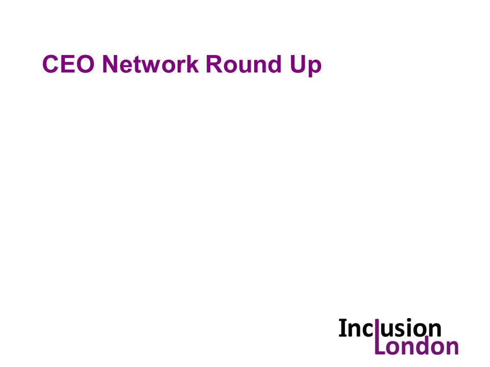 CEO Network Round Up