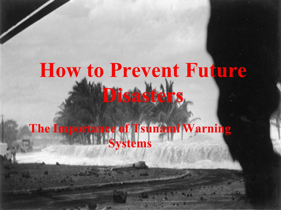 How to Prevent Future Disasters The Importance of Tsunami Warning Systems