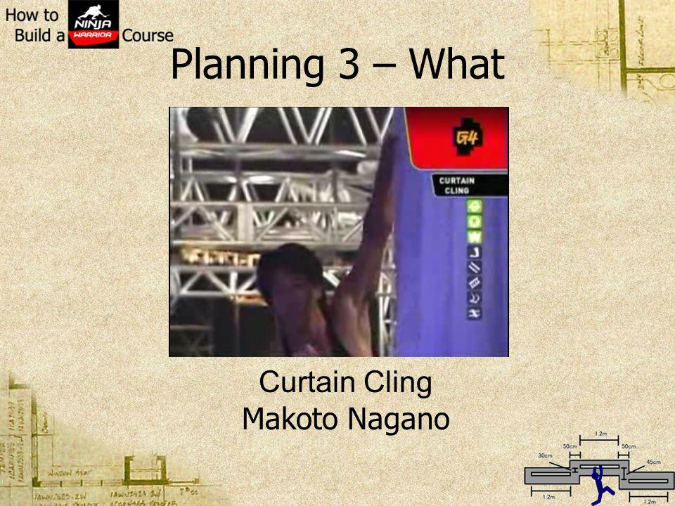 Planning 3 – What Curtain Cling Makoto Nagano