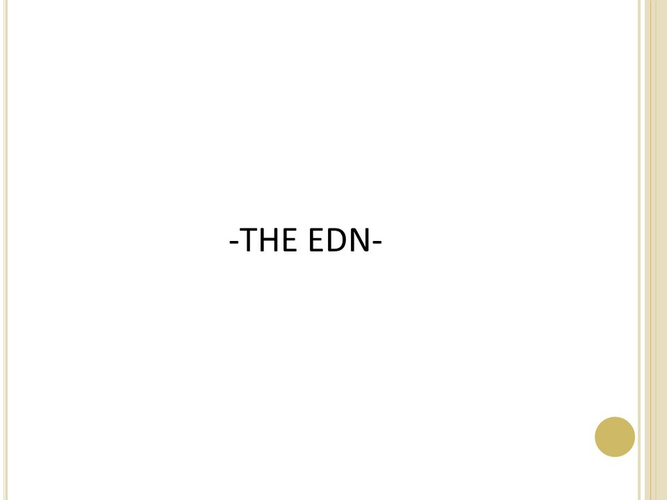 -THE EDN-