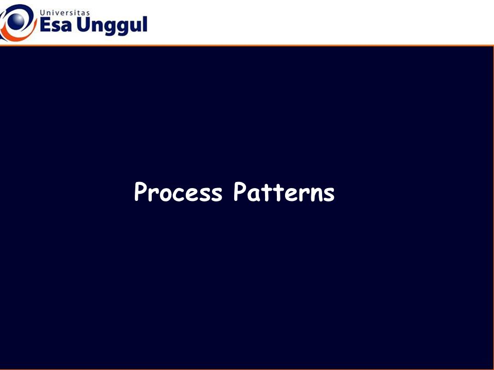 Process Patterns