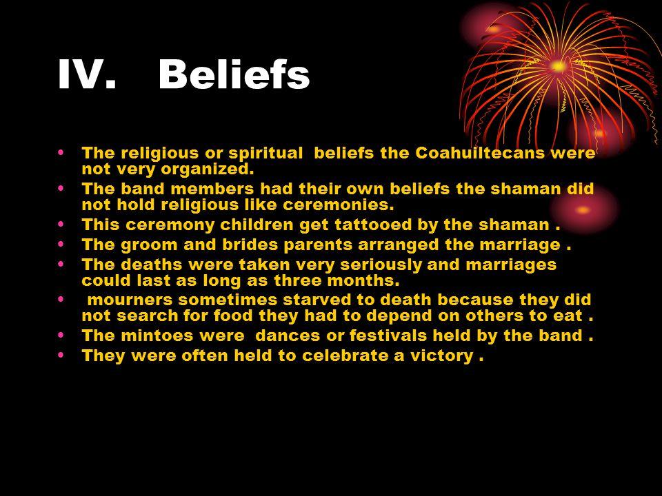 V summary The coahuiltecans where very adaptable tribe group.