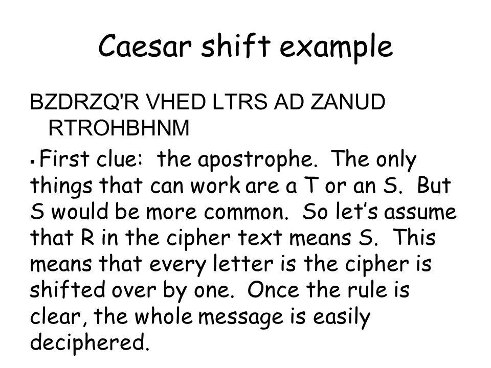 Mono-alphabetic Substitution Cipher 26.
