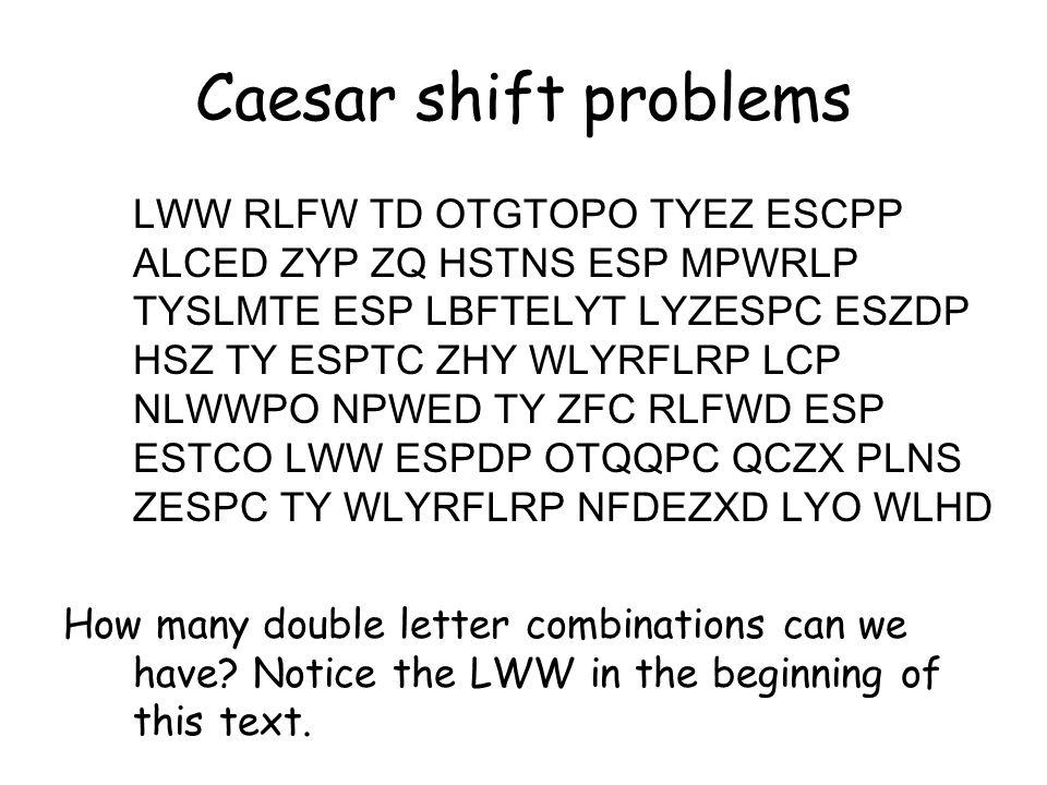 What makes the Caesar cipher so convenient.