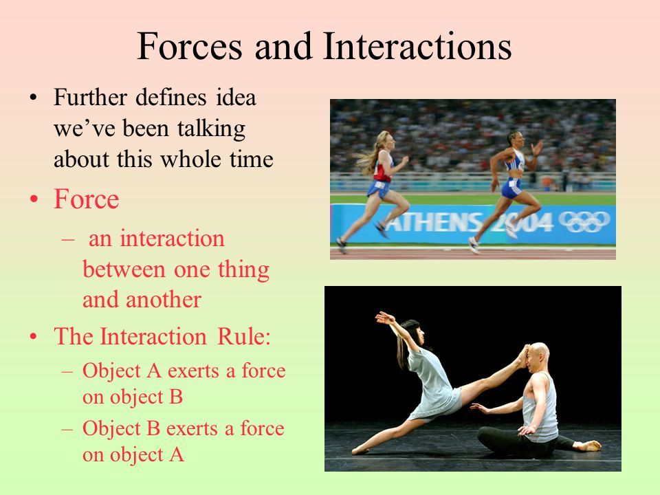 Forces and Interactions Which block pulls harder.Check your neighbor.