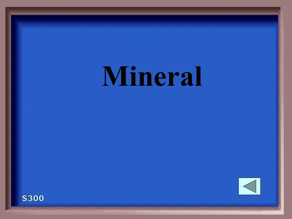 6-300 My crystal shape is