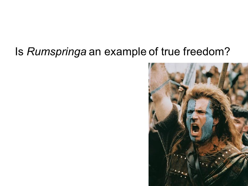 Is Rumspringa an example of true freedom