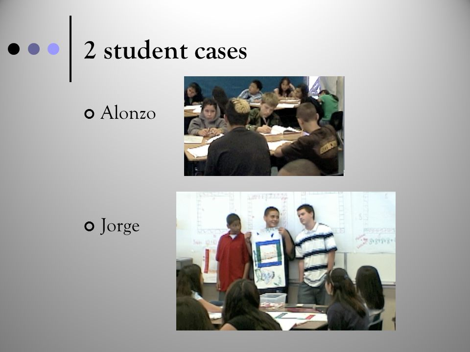 2 student cases Alonzo Jorge