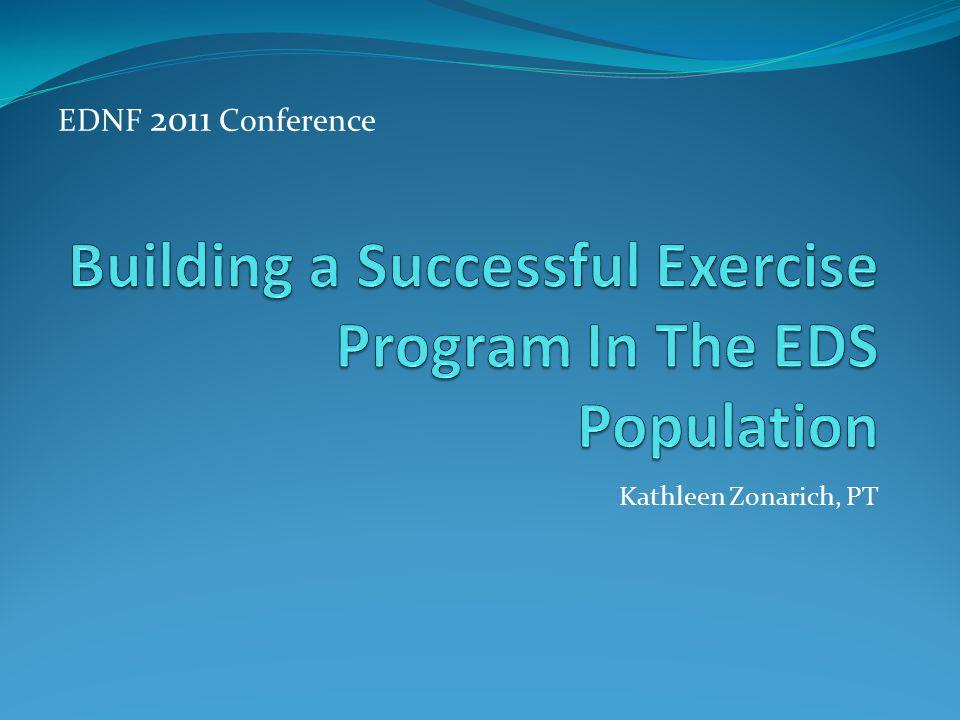 Kathleen Zonarich, PT EDNF 2011 Conference