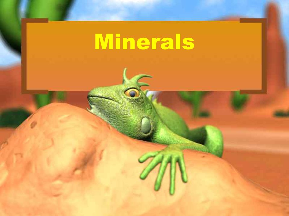 Key Concept #1 What is a mineral.