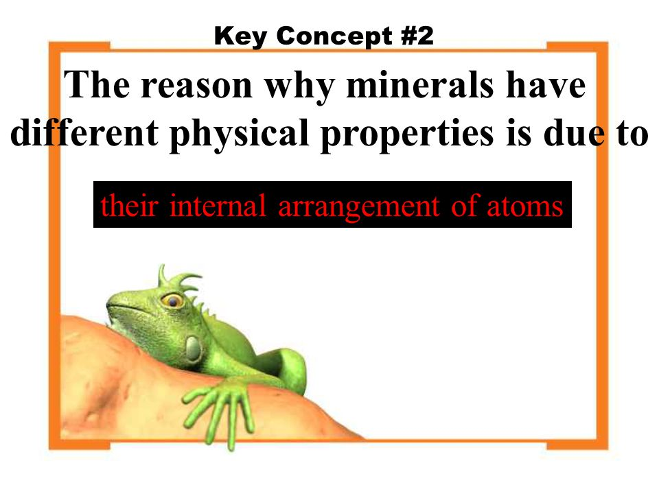 REVIEW- WHAT IS A MINERAL.