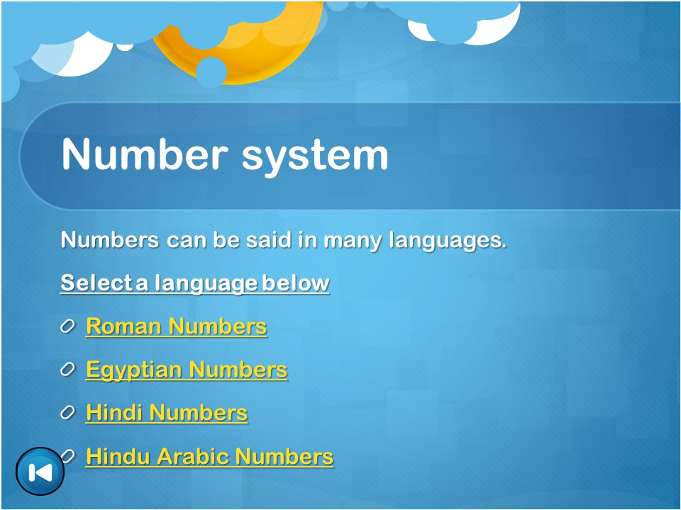 Egyptian Numbers What is Egyptian Numbers.