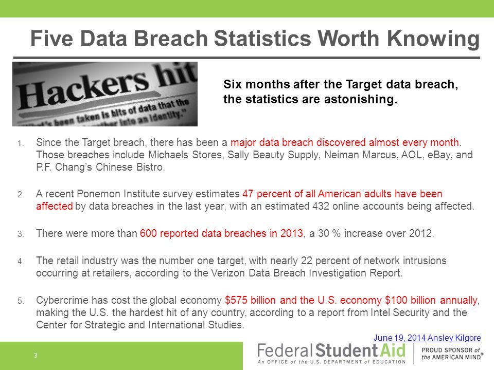 Data Breaches and Hacks 4