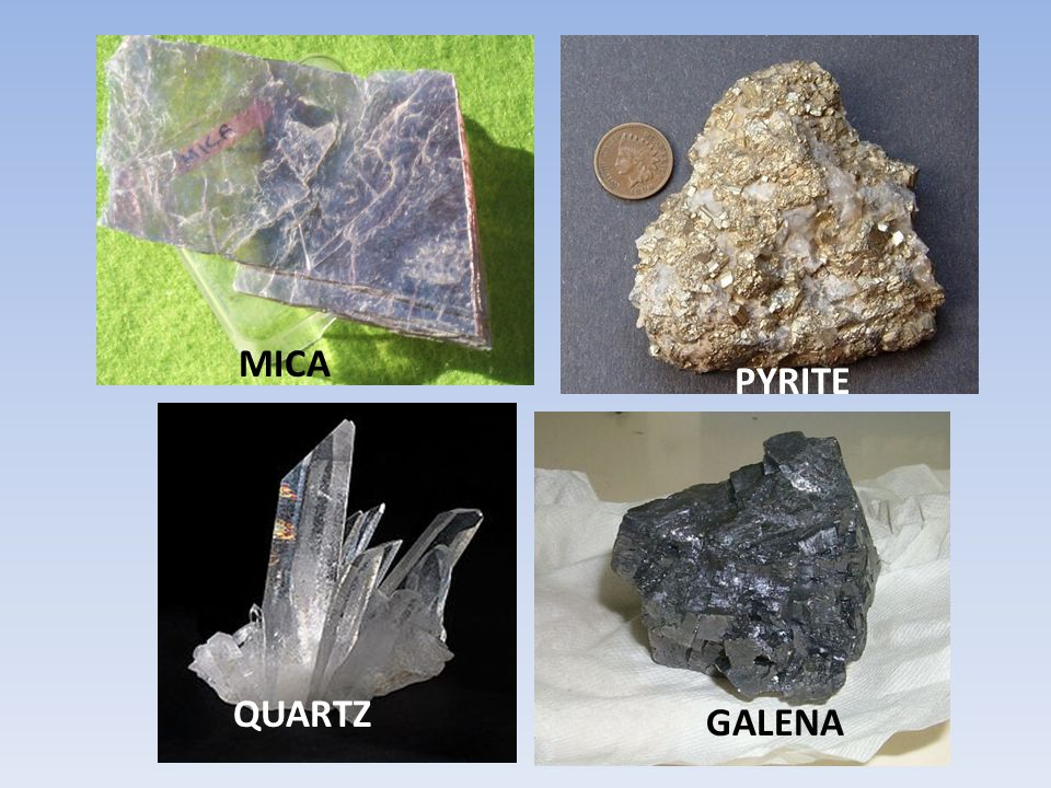 Hardness of various objects -Fingernail: 2,5 -Penny : 3 -Glass slide: 5,5 -Steel Nail: 6,5 -Porcelain plate: approx 7 Find the approximate hardness of the minerals in your lab show your work Mica Pyrite Galena Quartz