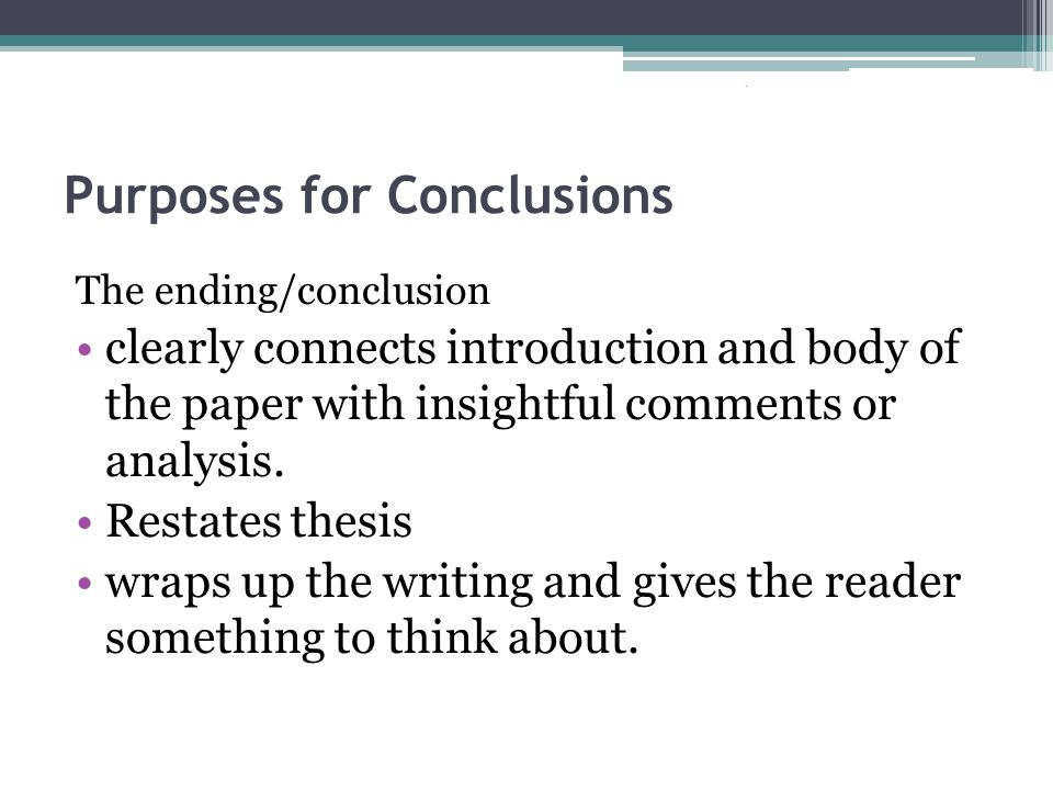 Ineffective Conclusions I hope you enjoyed reading my… In this essay/letter you have learned… In conclusion,… As you can see/tell… I just told you about (exact thesis)… Copyright 2006 Washington OSPI.