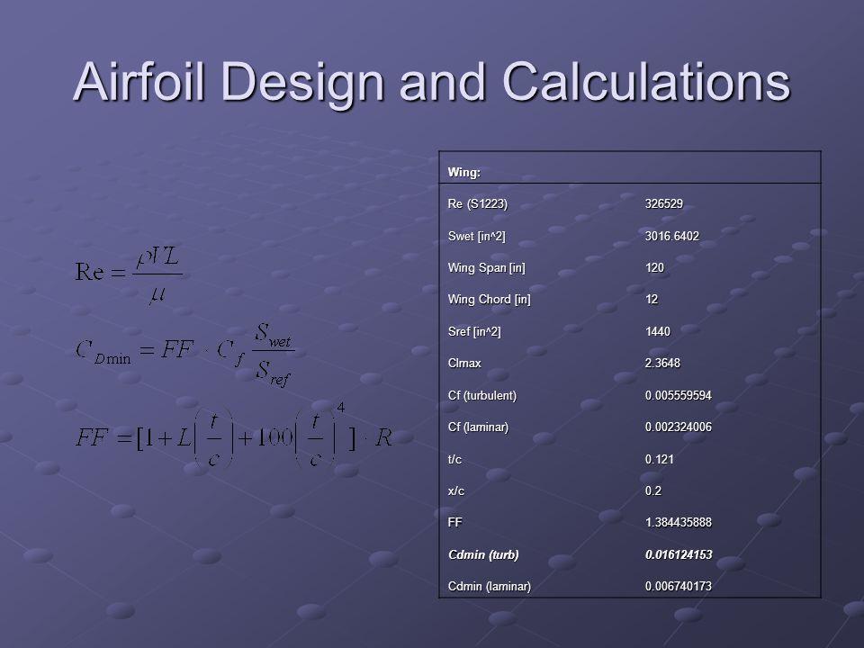 Airfoil Matrix Important Factor E122E214E423 OAF10 2 S1223 Cl512235 Cd254432 Constructio n 355443 Overall503033303338
