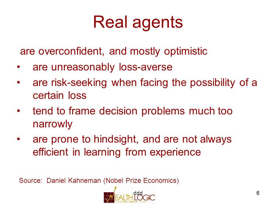 ddd37 1.Behavioral Finance (Psychology) 2. Efficient Investments (Mathematics ) MPT 2a.