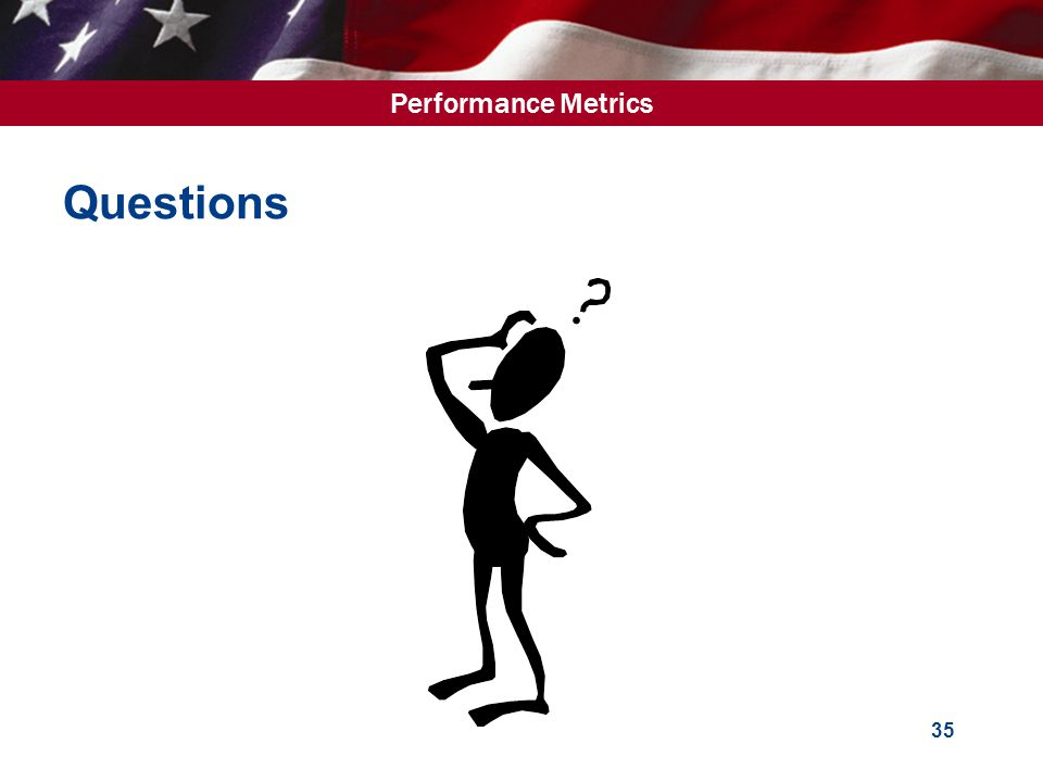 Performance Metrics 35 Questions