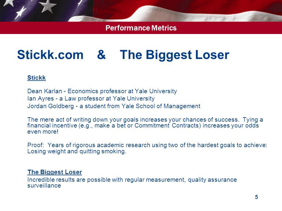 Performance Metrics 6 What are Performance Metrics.