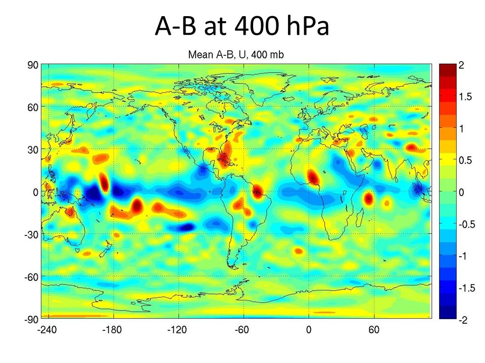 A-B at 400 hPa