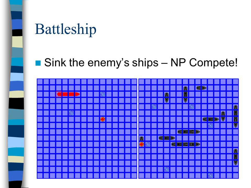 Battleship Sink the enemy's ships – NP Compete!