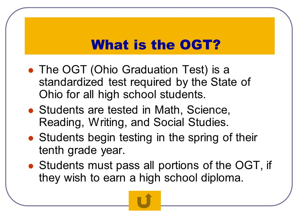 "Thanks To: Ohio Graduation Test State Website Rusted Root: ""Drum Solo"""