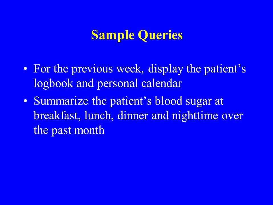 Time Line Browser Prototype used to display diabetes patient data over time Created the formal definition of, and operators for, a timeline Provides G