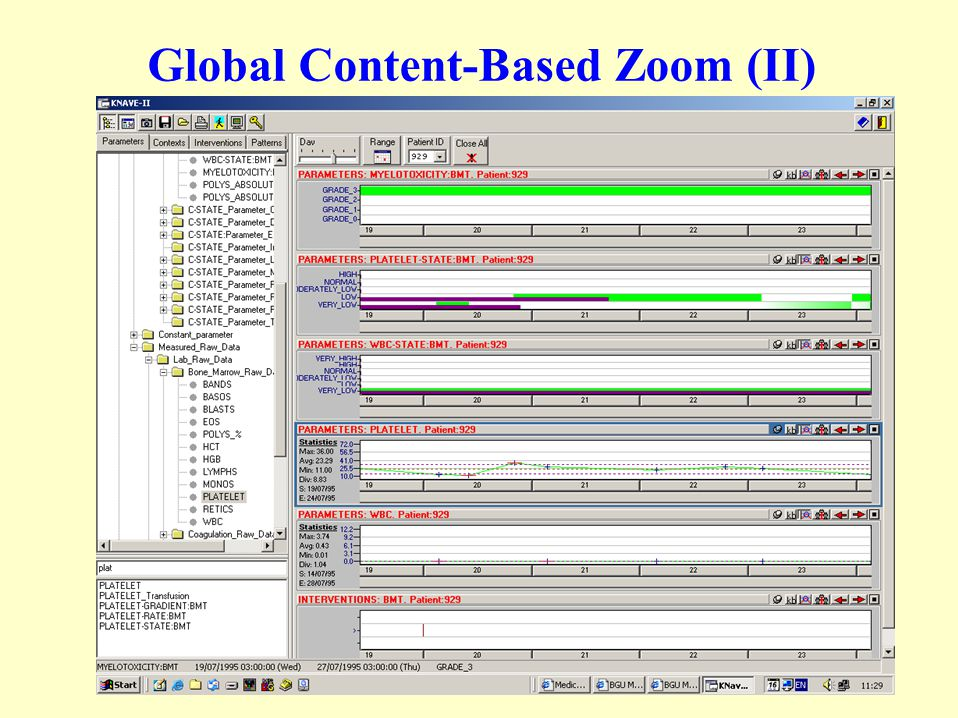 Global Content-Based Zoom (I)