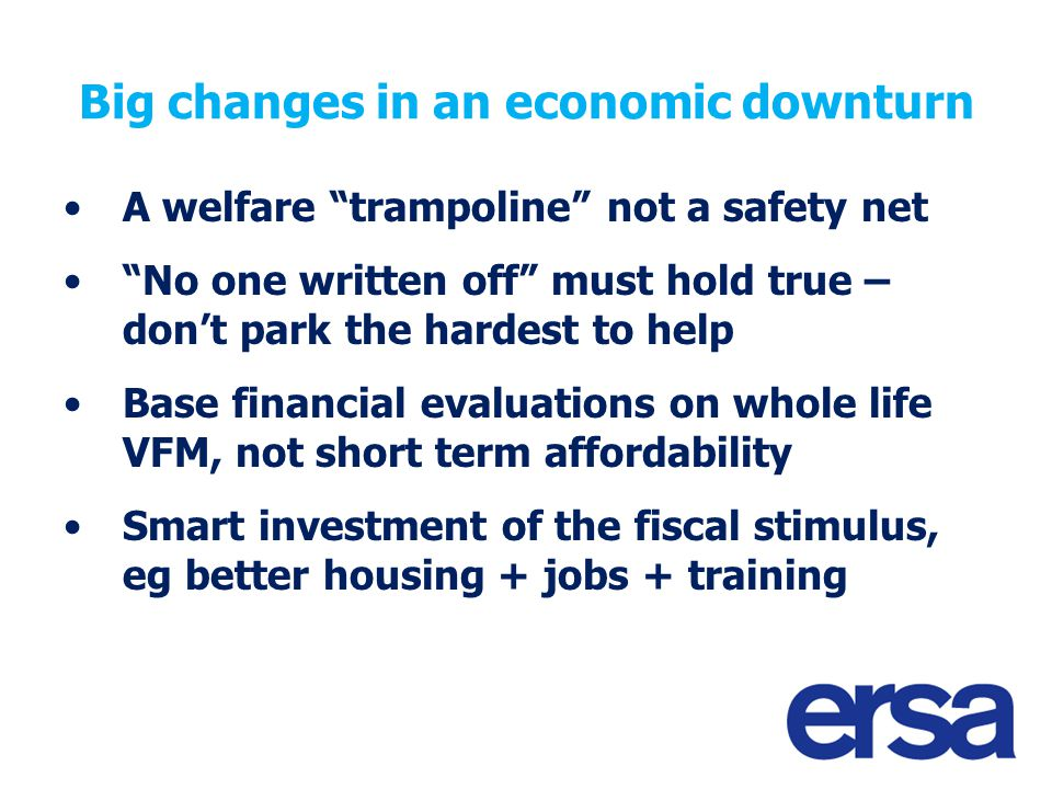 Make sure we learn the lessons Flexibility – and fair competition Learn lessons for next round of flexible New Deal – and for other programmes Invest in building relationships Celebrate successes together WILLOW – Off the Streets and into Work running 2 yr project to gather voice of smaller London providers