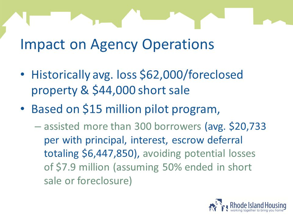 Impact on Agency Operations Historically avg.