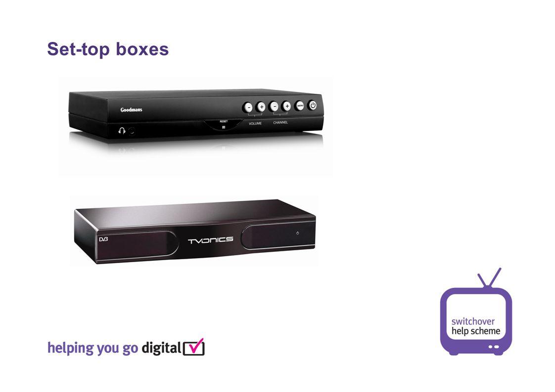 Set-top boxes