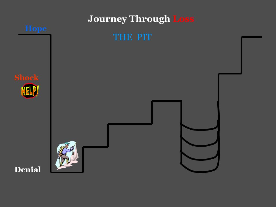 Hope Journey Through Loss Shock Denial THE PIT