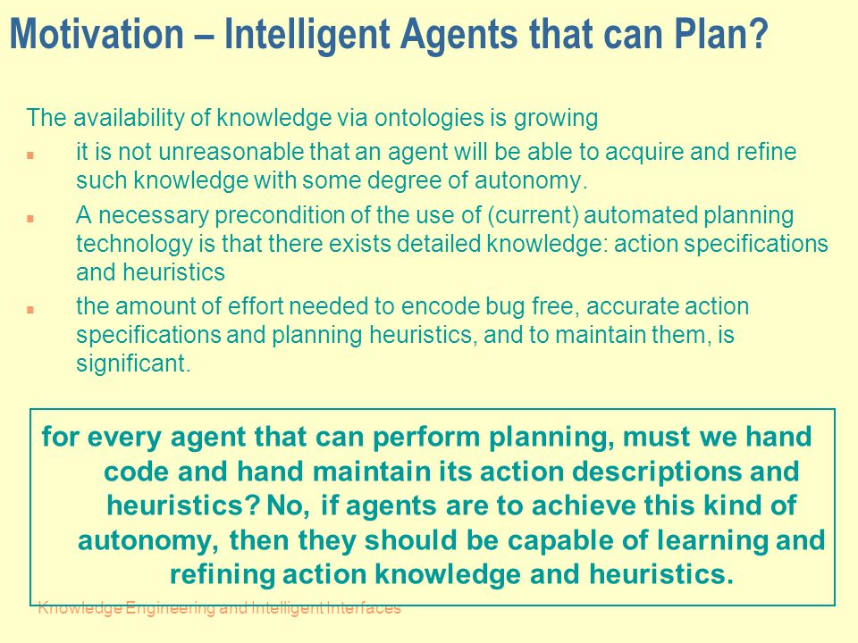 Knowledge Engineering and Intelligent Interfaces Method Overview for (1) Considering a changing object O at training action with id 'Idx'..