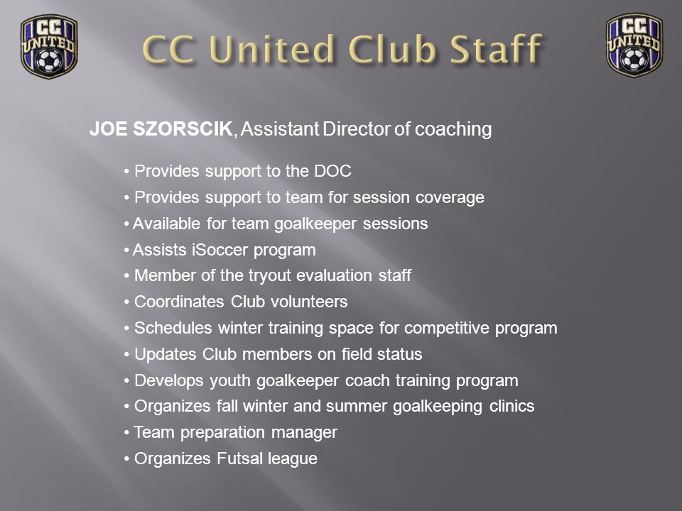 CHALLENGE: Players within each age group of the traveling program are different in their approach to soccer.