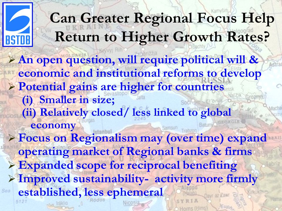 Can Greater Regional Focus Help Return to Higher Growth Rates.