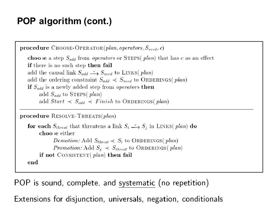 118 POP algorithm (cont.)