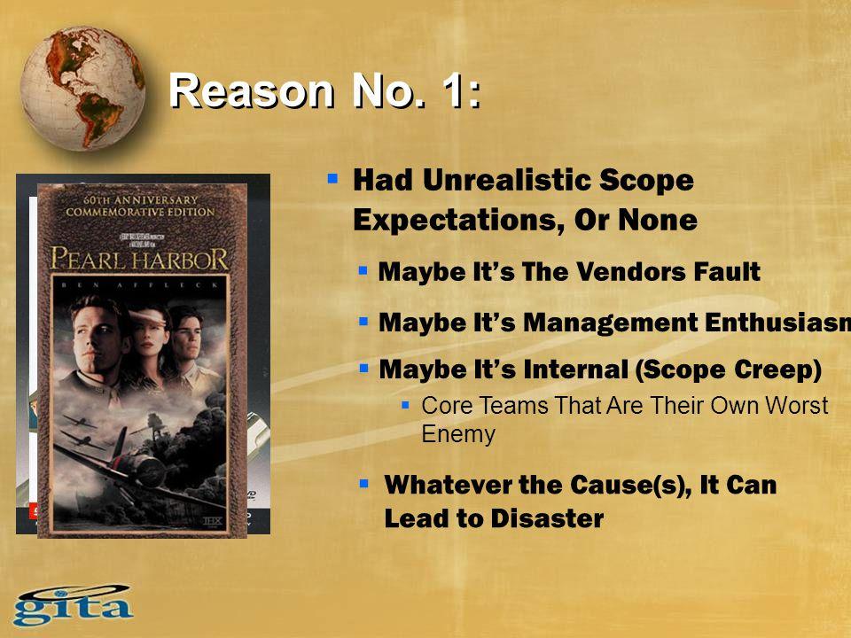 Reason No.