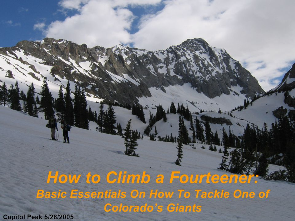 54 Official Fourteeners According to the CMC 1,437 have summited all 2nd Highest Peak in the Continental US Only 6 other States in the Lower 48 have peaks over 13,000 feet 637 peaks above 13,000 feet 400,000 people visit Pikes Peak annually Mount Evans has the highest paved road in North America Colorado has 16 named glaciers Colorado has more micro-breweries per capita Colorado Mountain Facts