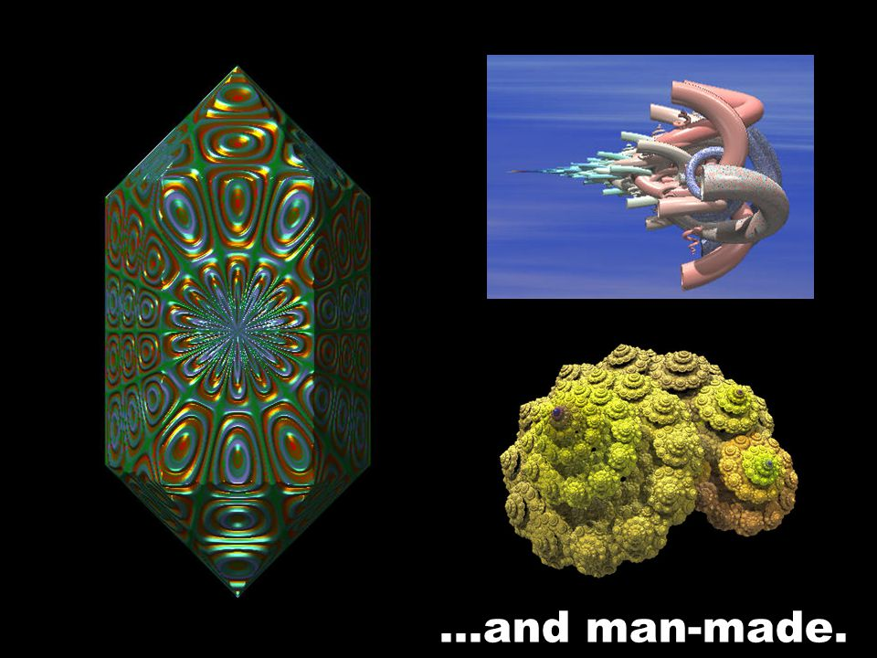 Fractals are natural…