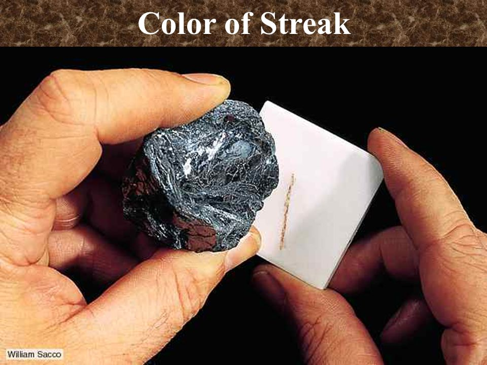 Color of Streak