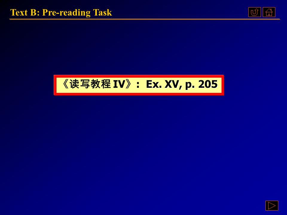 Pre-reading TaskPre-reading TaskPre-reading TaskPre-reading Task Text B: Language PointsText B: Language PointsText B: Language PointsText B: Language Points ComprehensionComprehensionComprehension Unit 6: Text B