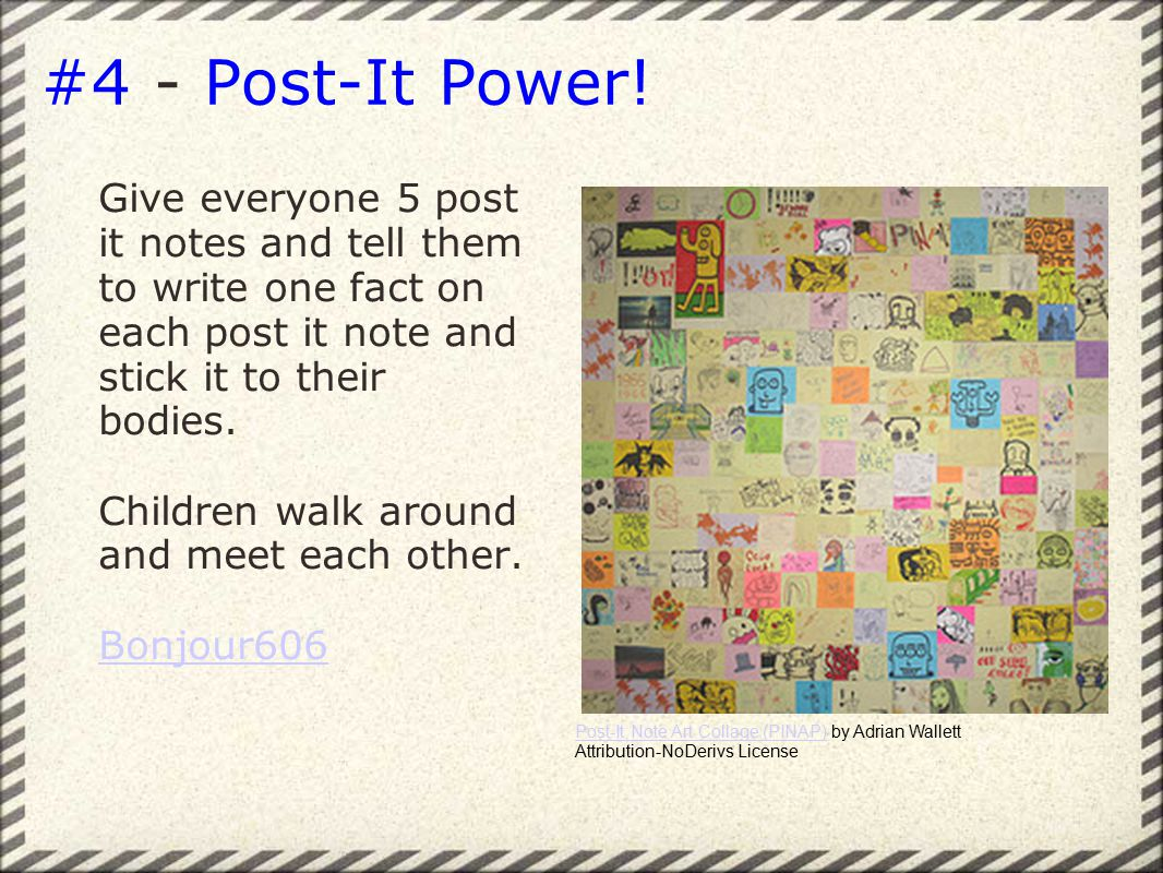 #4 - Post-It Power.