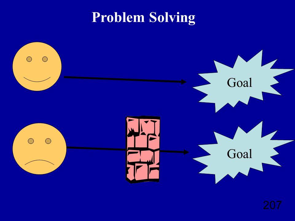 207 Goal Problem Solving Goal