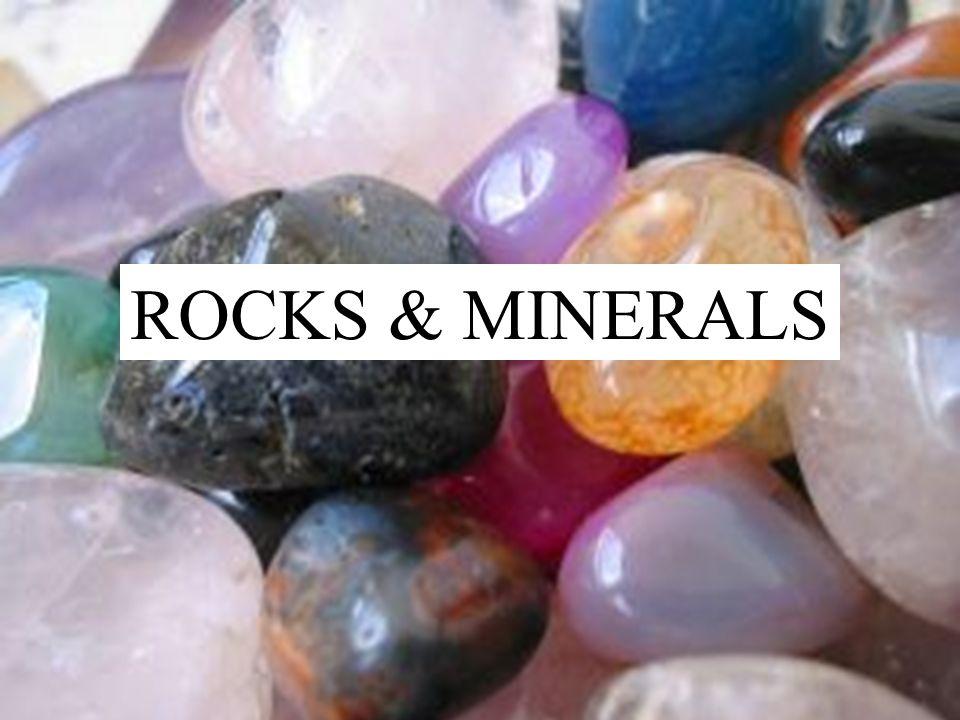 Rocks & Minerals ROCKS & MINERALS