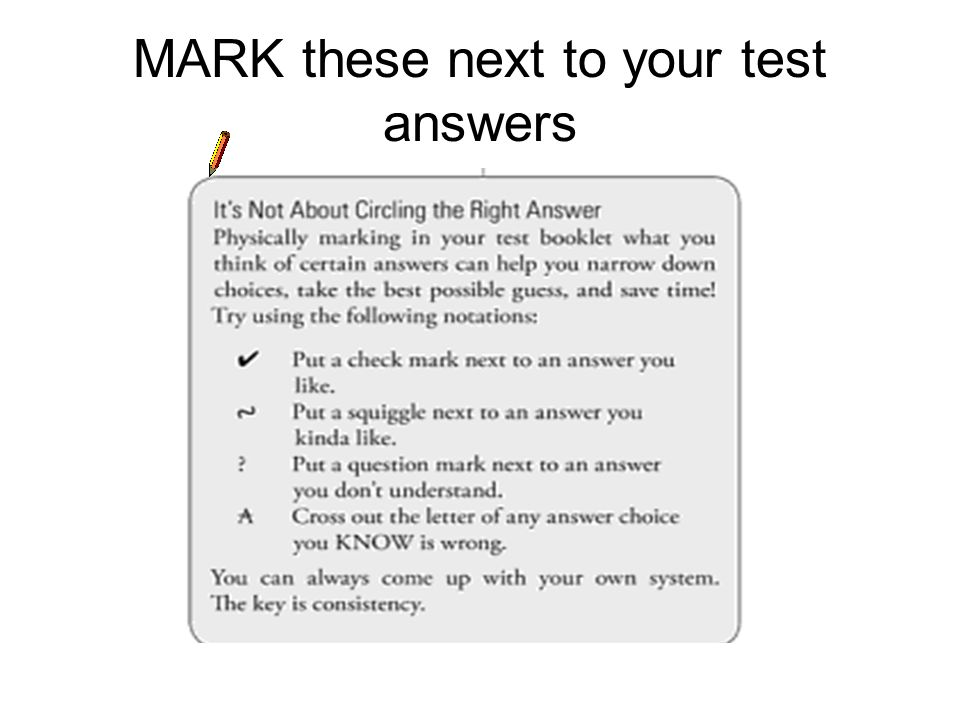 More on the Hard Questions The average student is what the SAT folks love.