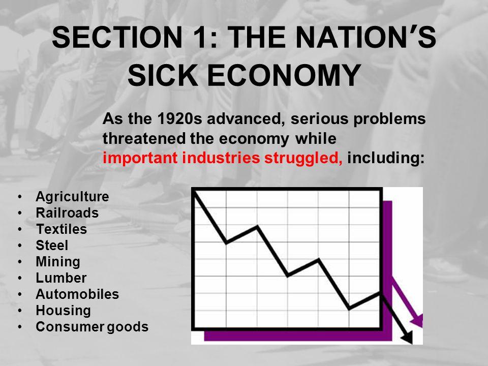 GNP DROPS, UNEMPLOYMENT SOARS Between 1928-1932, the U.S.