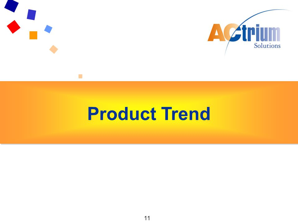 11 Key Findings Exhibitors Product Trend