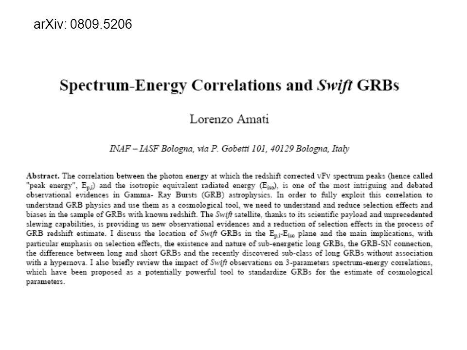 arXiv: 0809.5206