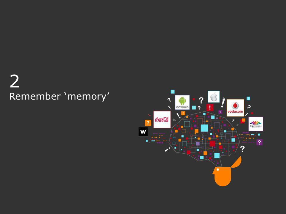 2 Remember 'memory'