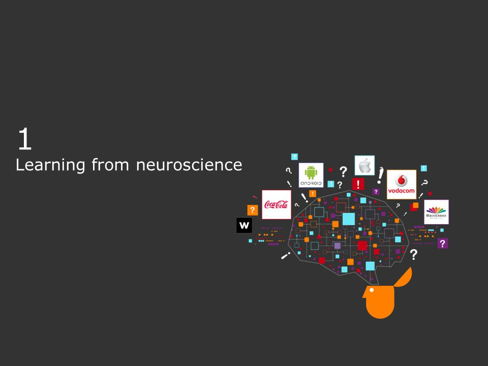 1 Learning from neuroscience